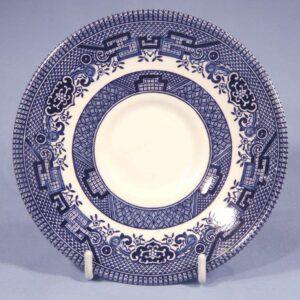 Блюдце Churchill Голубая ива 2