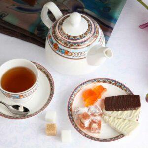 Чайный сервиз Гермес Роял Аурель 13 предметов 2