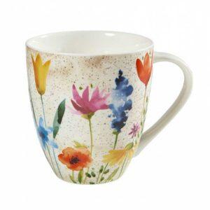 Кружка Churchill Цветок Акварель 2