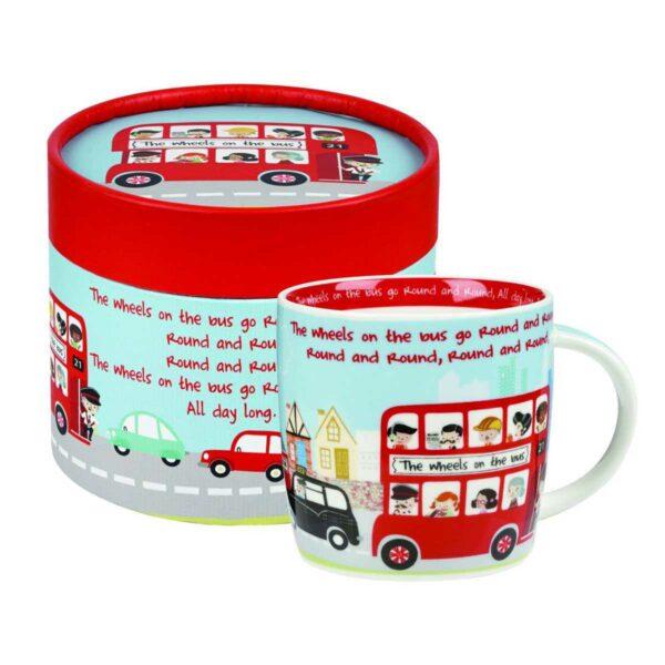 Кружка детская Churchill Автобус Little Rhymes в коробке круглой 2