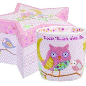 Кружка детская Churchill Звезды розовый в коробке 2