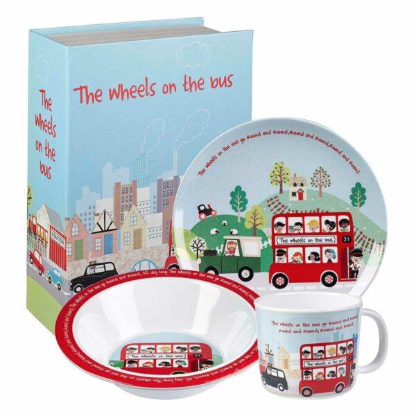 Набор детской посуды Churchill Автобус Little Rhymes в коробке 2
