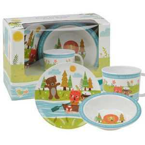 Набор детской посуды Churchill Лодка Little Rhymes в коробке 2
