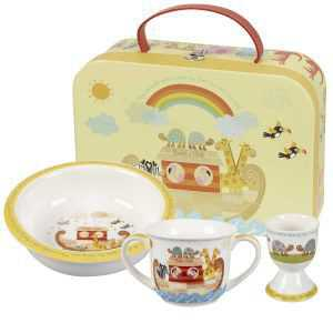 Набор детской посуды Churchill Ноев Ковчег Little Rhymes 3 предмета 2