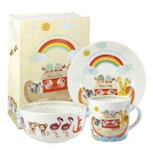 Набор детской посуды Churchill Ноев Ковчег Little Rhymes в коробке 2