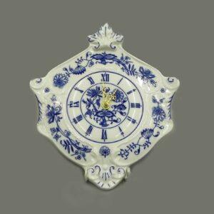 Часы настенные гербовые 27 см Мэри-Энн Гжель Леандер 0055 2