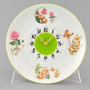 Часы настенные Зайчики Леандер 2195 2