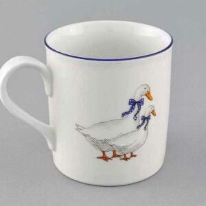 Кружка чайная 220 мл Мэри-Энн Гуси Леандер 0807 2