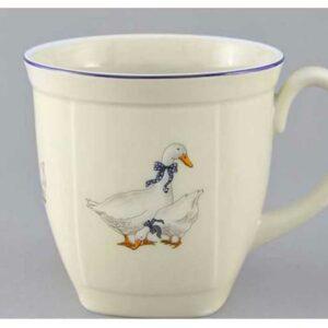 Кружка чайная граненная 600 мл Мэри-Энн Гуси Леандер 0807 2