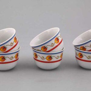 Набор чашек арабских 100 мл Александра Восточная коллекция Леандер 24102