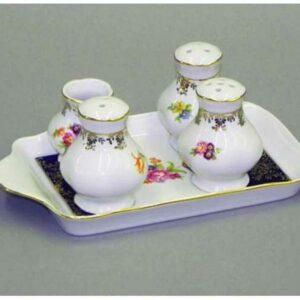 Набор для приправ Мэри-Энн Мелкие цветы Леандер 0086 2