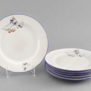 Набор тарелок десертных 17 см Мэри-Энн Гуси Леандер 0807 2