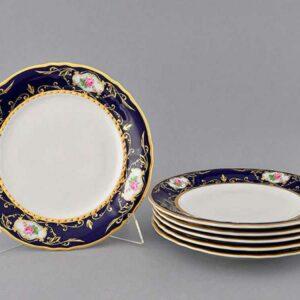 Набор тарелок мелких 25 см Соната Мелкие цветы Леандер 0440 2