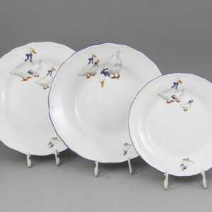 Набор тарелок Верона Гуси Леандер 0807 2