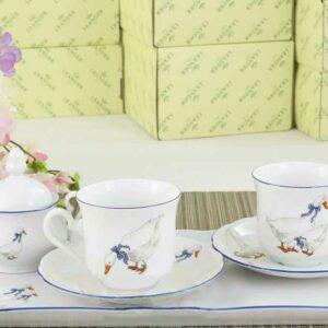 Подарочный набор кофейный Тет-а-тет Мэри-Энн Гуси Леандер 0807 2