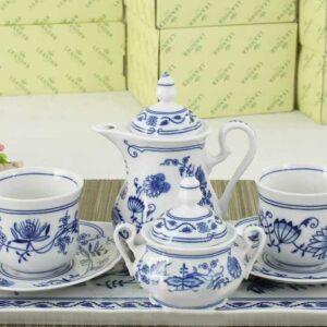 Подарочный набор кофейный Тет-а-тет Мэри-Энн Гжель Леандер 0055 2
