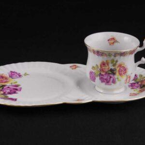 Сервиз чайный для завтрака Моника Розы Леандер 0758 2