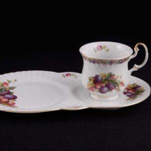 Сервиз чайный для завтрака Моника Спелые фрукты Леандер 0772 2