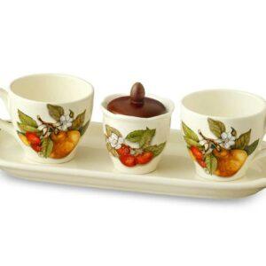 Чайный сервиз Груша artigianato ceramico2