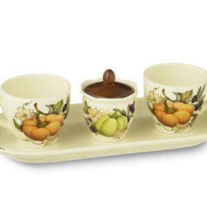Чайный сервиз Тыква artigianato ceramico 2