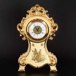 Часы 39 см Свидание White gold Limoges Bruno Costenaro 2