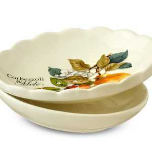 Дуршлаг 23см Груша artigianato ceramico2