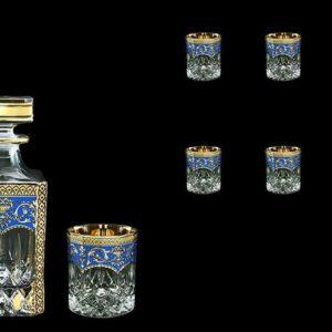 Набор для виски Opera Flora's Empire Golden Blue Астра Голд2