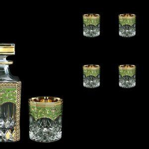 Набор для виски Opera Flora's Empire Golden Green Астра Голд 2