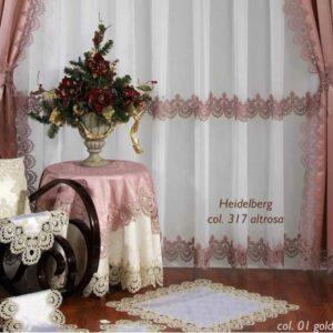 Скатерть Веймар Розовый 2