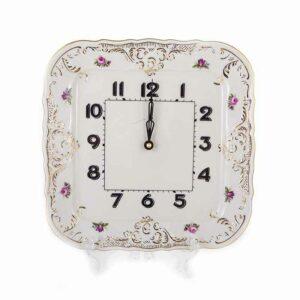 Часы квадратные Бернадотт Ивори 26 см 2