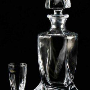 Набор для водки Квадро Кристалайт Богемия2