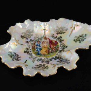 Икорница 17 см Корона Мадонна Перламутр Queen's Crown2