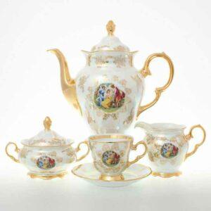 Кофейный сервиз Мадонна Перламутр Sterne porcelan 2