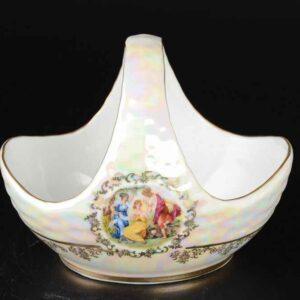 Корзина 17 см Корона Мадонна перламутр Queen's Crown 2