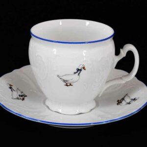 Набор чайных пар бочка 240 мл Гуси Bernadotte 2