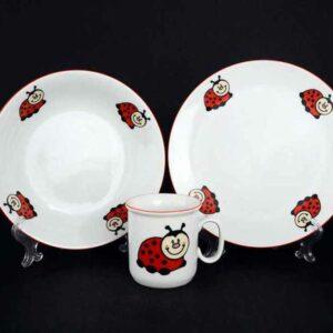 Набор детской посуды Божья Коровка Тхун 2