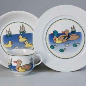 Набор детской посуды Утки Тхун 2