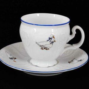 Набор кофейных пар 170 мл Гуси Bernadotte 2