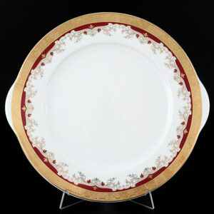 Тарелка для торта 27 см Кристина Красная Лилия Thun 2