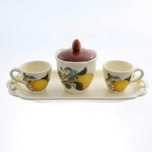 Кофейный сервиз Лимоны Caroline Artigianato 41509 2