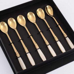 Набор кофейных ложек FRANCE GOLD DOMUS DESIGN 38780 2