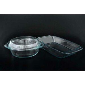 Набор кухонный 2,4л 2,1л Simax (жаропрочный) 2