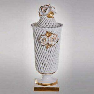 Настольная лампа 46см Розы золото Orgia 2