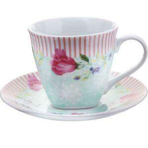 Чашка 150 мл с блюдцем Loraine 25797-1 2