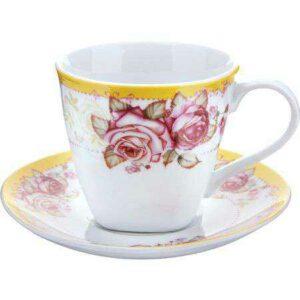 Чашка 220 мл с блюдцем Loraine 25794-1 2