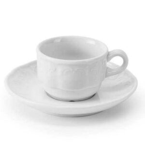 Кофейная пара 80 мл Didon Tunisie Porcelaine 2