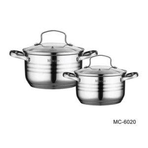 Набор посуды Mercury MC 6020 4 предмета 33/23 л 20/18 см 2