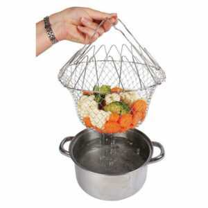 Складная решётка для приготовления Баскет Chef Basket 2