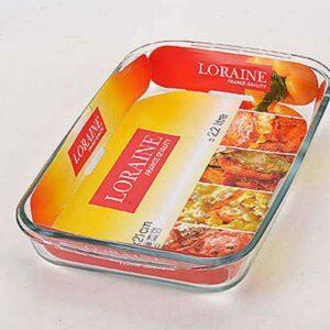 Жаровня стеклянная 2,2 л Loraine 20674 2