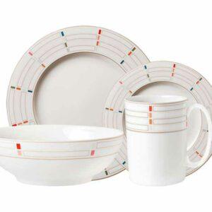 Сервиз чайно-столовый Lenox Праздник 365 1/4 конфетти 2